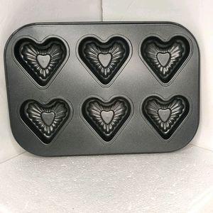 5/$25 Heart Shaped Cupcake Molds
